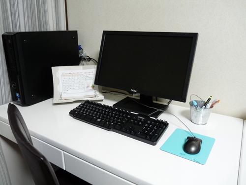 パソコン教室 ともとも 教室写真  ★高性能パソコンでワイド画面、快適学習! ★個室:パソコンの